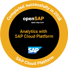 Analytics with SAP Cloud Platform